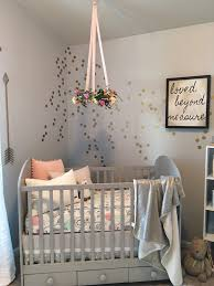 Wall Decals For Baby Room A Serene And Calming Nursery For Selah Grace Project Nursery