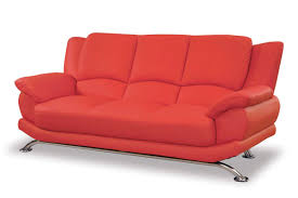 how to decorate a living room with a red leather sofa u2014 modern