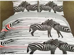 Zebra Print Duvet Cover Zebra Print Bedding Canada Beddinginn Com
