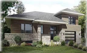 Split Level Style Plan 90257pd Split Level Prairie Style Home More Best Ground