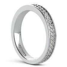celtic knot wedding bands celtic knot men s wedding ring in platinum