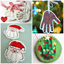 salt dough handprint ornaments crafty morning