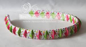 ribbon headbands really reasonable ribbon summer woven ribbon headband