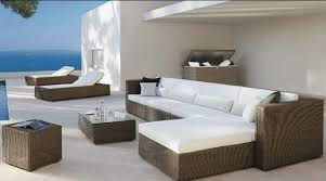 rattan lounge sofa aliexpress buy 2017 outdoor resin wicker poly rattan garden