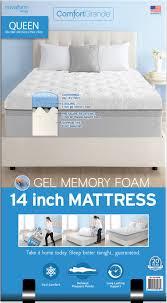 Novaform Gel Memory Foam Mattress Topper Comfortgrande U2013 Novaform
