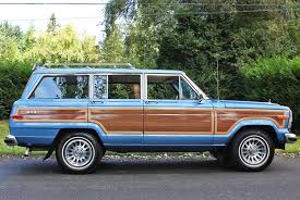 1991 jeep grand 1988 jeep grand wagoneer side view cars today