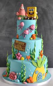 spongebob birthday cake birthday cakes spongebob custom cakes balloons for all