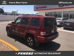 red jeep liberty 2008 2008 used jeep liberty 4wd 4dr sport at kearny mesa toyota serving