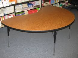 kidney bean shaped table kidney shaped table classroom all about house design outstanding