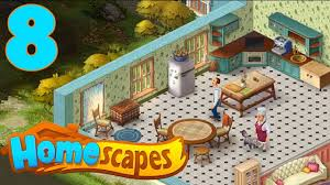 interior home scapes homescapes walkthrough part 8 gameplay opening kitchen
