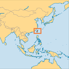Cayman Islands Map In The World by Republic Of China Taiwan Operation World