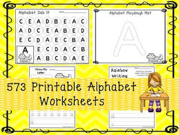 573 alphabet worksheets download preschool kindergarten