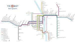 Washington Dc Metro Map Pdf by Maps And Schedules For Trimet Buses Max And Wes