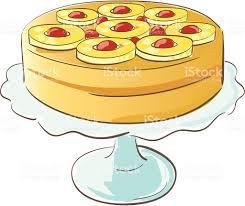 pineapple upside down cake stock vector art 150419442 istock