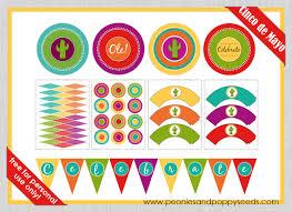 printable birthday decorations free cinco de mayo free printables fiestas birthdays and party planning