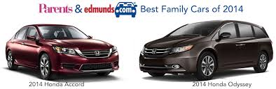 best family cars 2014 honda accord u0026 odyssey
