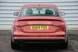 pink audi a4 used 2014 audi a4 saloon black edition 2 0 tdi 177 ps 6 speed for