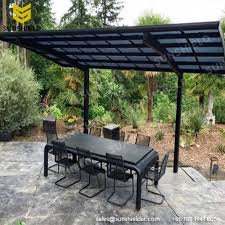 Outdoor Patio Awnings Polycarboante Patio Cover Aluminum Patio Awning Sunshield