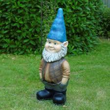 halloween garden gnomes 3ft bobble head gnome walmart com