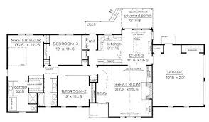 country home plans one story best one story house plans style one story house plan f