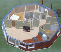 octagonal house plans octagon house plan front octagon shooting house plans makushina com