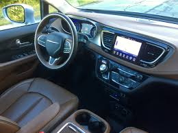 chrysler car interior 2017 chrysler pacifica limited review u2013 is this the best minivan