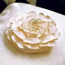wedding ring pillow floral wedding ring pillow