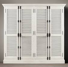 Restoration Hardware Armoire Diy Shutter Door Wardrobe India Pied à Terre Idea U0026 Restoration