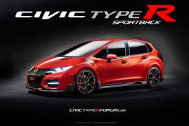 honda civic 2016 type r 2016 civic type r wagon rendering