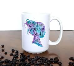 multi colored coffee mug grateful thankful blessed fall mug cute