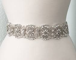 bridal sash wedding belts sashes etsy