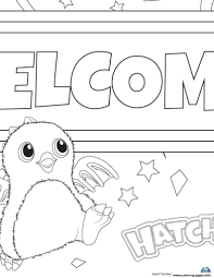 print hatchy hatchimals toy coloring pages free printable in