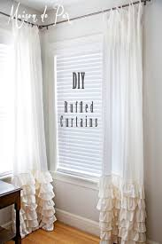 Beaded Curtains At Walmart by Best 25 Ruffle Curtains Ideas On Pinterest Curtains At Walmart