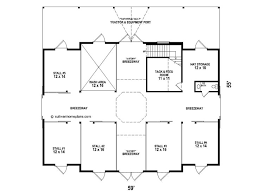 stable floor plans horse barn plans horse barn outbuilding plan 006b 0003 at