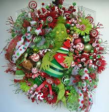 grinch christmas wreath grinch stole christmas grinch and max