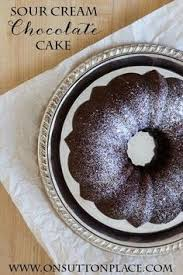 sour cream chocolate cake a moist chocolate cake with sour