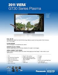 best tv deals on black friday 2011 amazon com panasonic viera tc p65gt30 65 inch 1080p 3d plasma