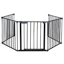 25 x30 baby safety hearth gate steel fire gate fireplace pet dog cat fence
