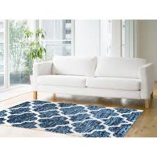ag home shaughnessy navy blue lattice area rug u0026 reviews wayfair ca