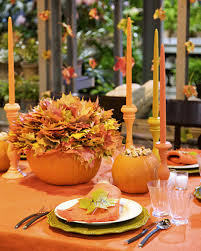 Fall Table Decor Fall Table Decorations With David Monn Martha Stewart