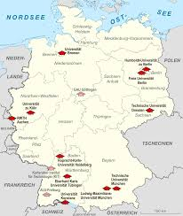 Wurzburg Germany Map by German Universities Excellence Initiative Wikipedia