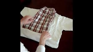 how to pack light roll pyjama t shirt shorts youtube