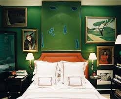 Green Wall Bedroom by 124 Best Green In Decor Images On Pinterest Home Chinoiserie