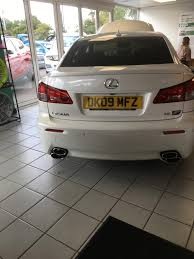 lexus dealer hull uk white isf just come on sale lexus is f club lexus owners club