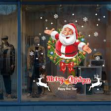 Home Decoration Accessories Ltd Aliexpress Com Buy Wall Sticker 2018 Merry Christmas Shop Home