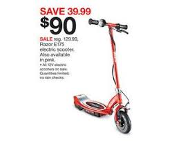 will electric razor scooters be on amazon black friday razor e175 electric scooter deal at target black friday sale