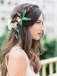 hair flower 20 gorgeous wedding hairstyles with flowers everafterguide
