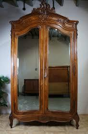 armoire linen cupboard antique french louis xv rococo double wardrobe armoire linen