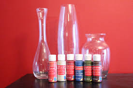 How To Paint Inside Glass Vases Descubre El Glass Quick And Easy