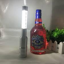 chagne bottle fireworks led light strobe baton chagne wine stopper nightclub bar